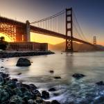 """Golden Gate - Golden Light"" by Surrealize"