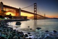 Golden Gate - Golden Light