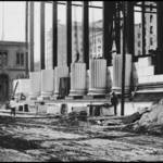 """Bank of California Under Construction, c. 1907"" by worldwidearchive"