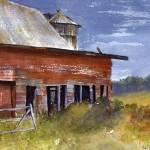 """""""Rainy Day at the Barn"""" by CorrineBongiovanni"""