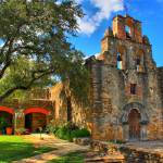 """Mission Espada Church 2"" by TomZimmer"