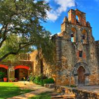 """Mission Espada Church "" by Tom Zimmer"
