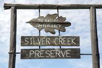 Silver Creek Preserve Entry Sign