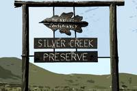 Poster of Silver Creek sign
