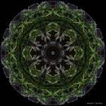"""Neon Green Mandala"" by annesmandalas"