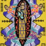 """Ethiopian Madonna and Child: with archangels"" by Eliora"