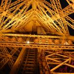 """Inside the Eiffel tower"" by kimberleypowell"