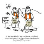 """""""Mary & Joseph on Probation"""" by grahamsale"""