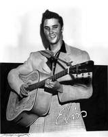 Elvis Presley by Jerry LaVigne Jr