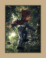 Boy Ice Skating Ornament