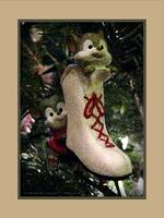 Ice Skating Mice Ornament