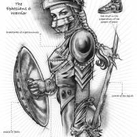 Armor of God Art Prints & Posters by Christine Kerrick