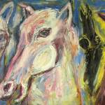 """Primary Horses"" by Eliora"