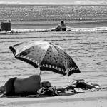 """Under The Umbrella - The Beach, 2005"" by madeline"