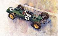 Lotus 25 F1 Jim Clark Monaco GP 1963