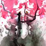 """Cherry-Blossom Monster"" by Eliora"
