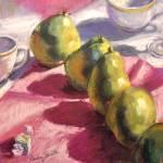 """""""Pears Line Dancing"""" by offthewallart"""