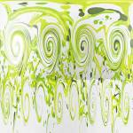 """""""Curly Greens"""" by abstractsbyalli"""