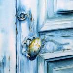 """Blue door"" by DPCooper"