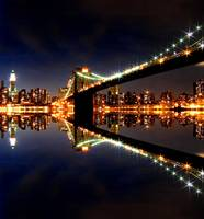 Brooklyn Bridge Reflections