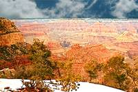 Snow on the Rim, Grand Canyon National Park