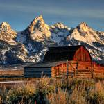 """Grand Tetons at Mormon Row"" by jpat"