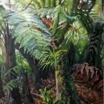 """Tree fern, New Z"" by margaretlarlham"