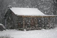 Cabin in the Blizzard