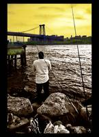 Redhook Fisherman - Brooklyn, New York