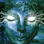 """Blue Goddess"" by Wrayne"