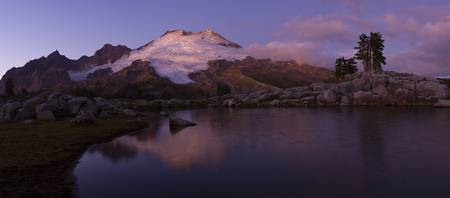 Mt. Baker Sunset Tarn