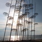 """Steel umbrellas"" by kimberleypowell"