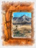 window in the desert