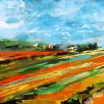 """""""Fields of Tulips Panoramic by Ginette"""" by GinetteCallaway"""