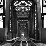 """Railroad Bridge over the Kansas River"" by SecondCityImage"