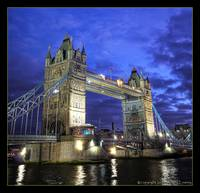 Tower Bridge @ Blue Hour
