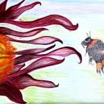 """Last Honey Bee"" by SunfluerDesigns"