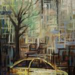 """""""Fast City II"""" by janelbraggfineart"""