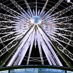 """Niagara Skywheel White"" by photoshimona"