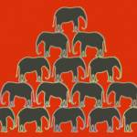 """Elephant Pyramid"" by WhizFish"