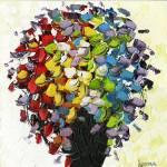 """""""Wild Flowers Bouquet"""" by modernhouseart"""
