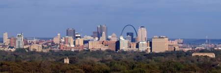St. Louis Skyline Panoramic