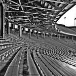 """Empty Bleachers (Explore #499 November 15, 2008)"" by ADW44"