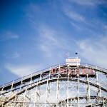 """Coney Island Coaster"" by alechuxley"