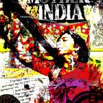 """Retro Bollywood poster : Mother India"" by moovieshoovie"
