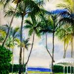 """Palm Gardens I"" by LindaArt"