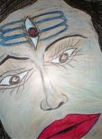 Trinetra - Shiva with the third eye.!