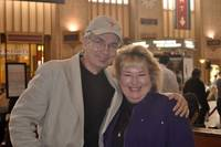 Ken & Patty at 30th Street Station - Philly