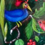 """Mystic bird in blue"" by Dorli"