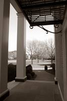 Looking Out To The Quad, Wake Forest